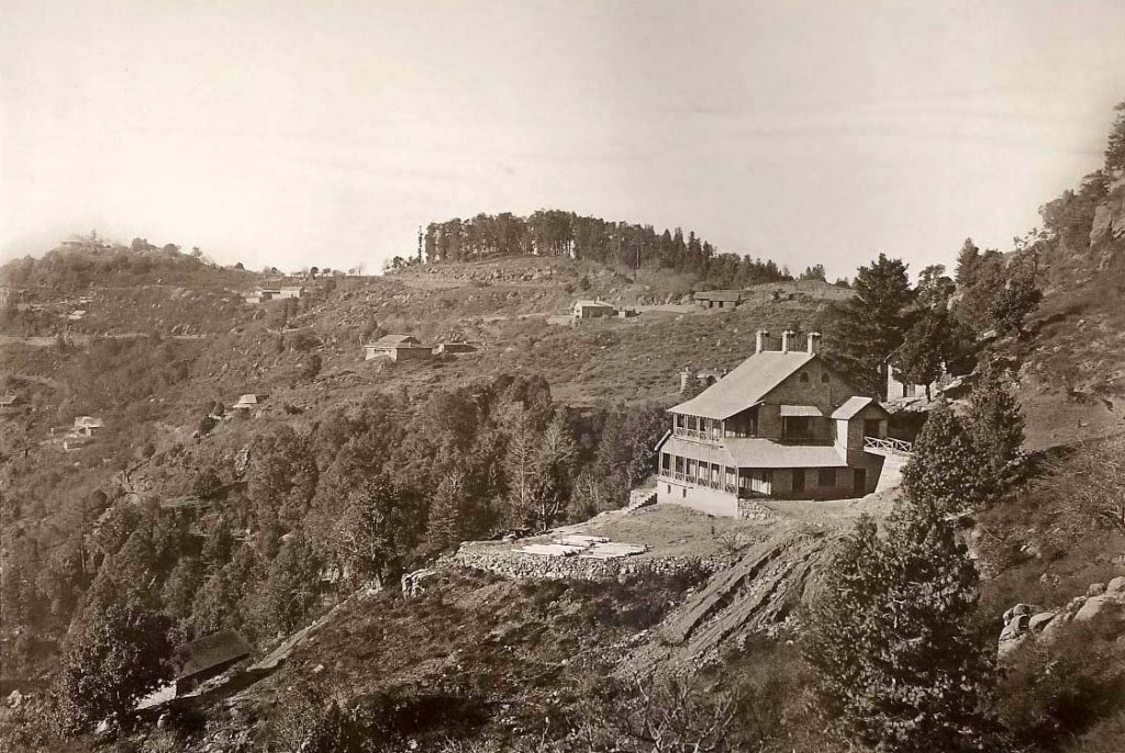 Kashmir Point Murree, 1861