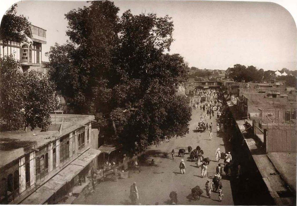 Rawal Pindi Street, 1883