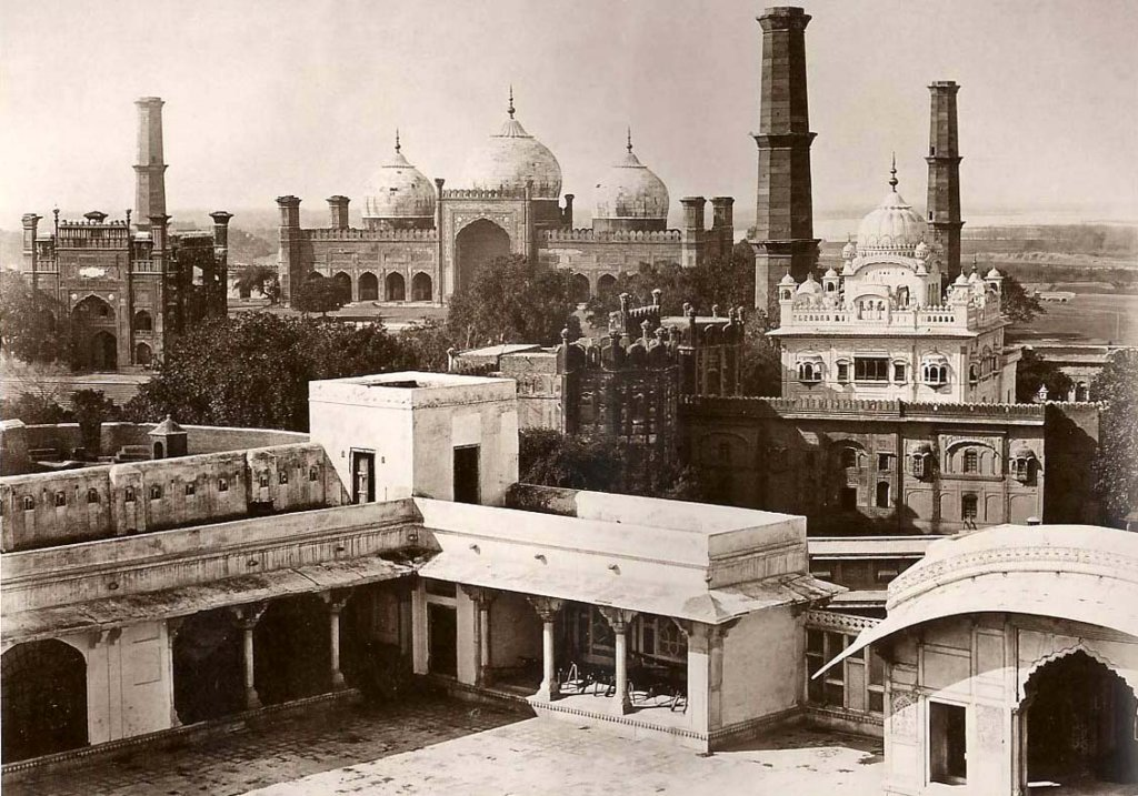 Lahore, View from Fort, 1864