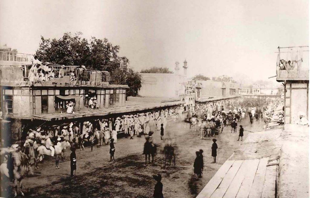 Peshawar Bazaar 1870