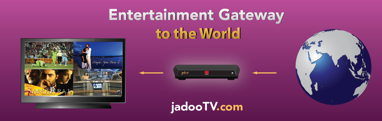 JadooTV: Connecting Diasporas with Home Lands : Planet Earth