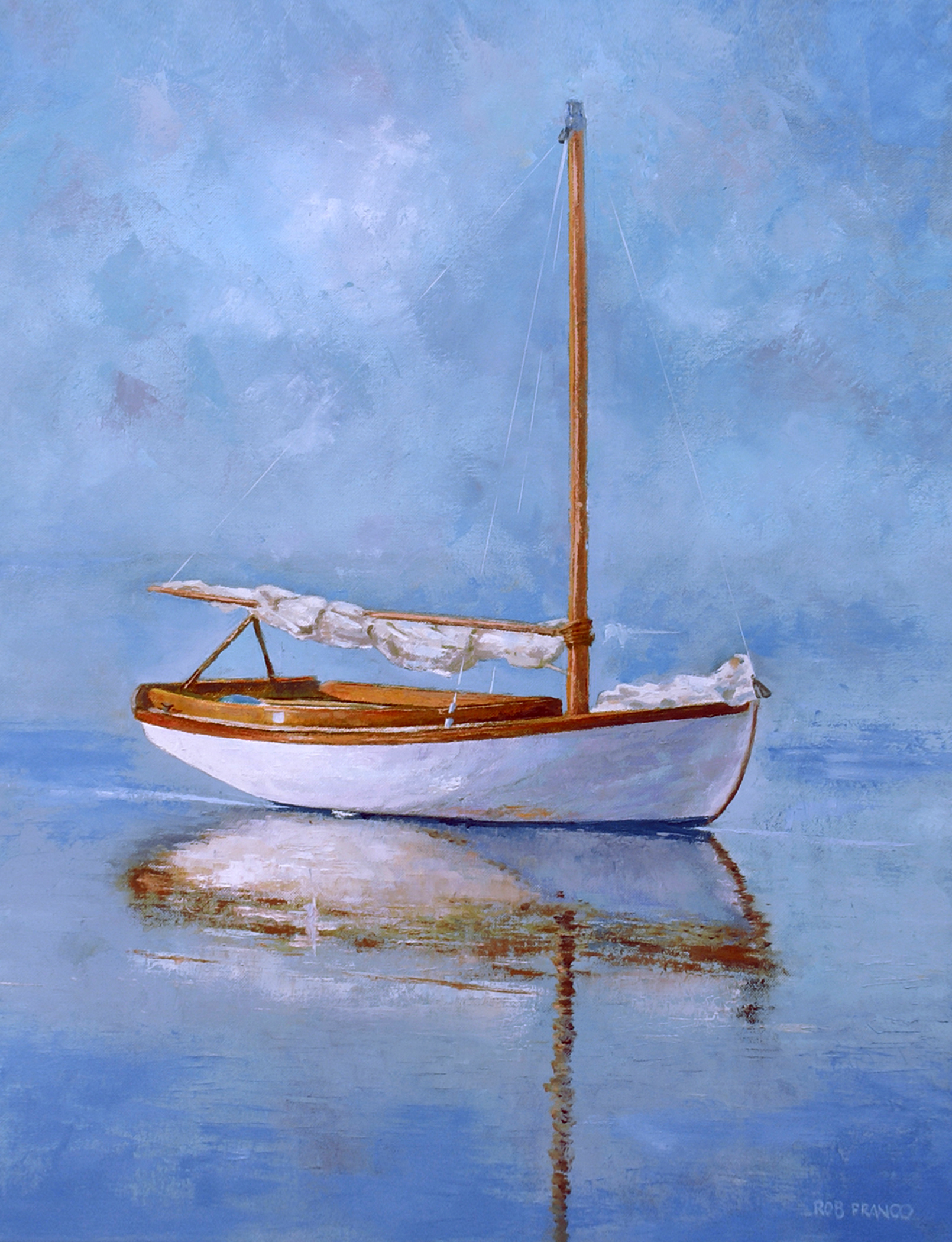boat paintings by rob franco planet earth